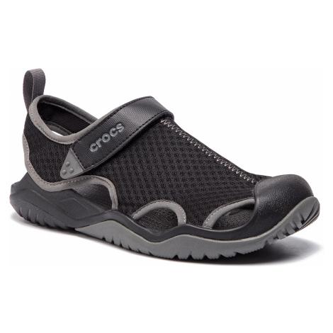 Sandały CROCS - Swiftwater Mesh Deck Sandal M 205289 Black