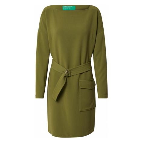 UNITED COLORS OF BENETTON Sukienka oliwkowy
