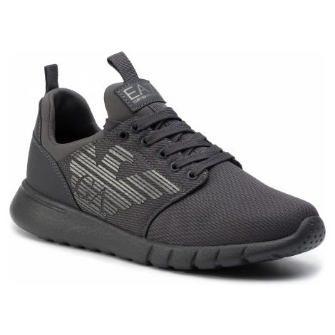 Sneakersy EA7 EMPORIO ARMANI - X8X007 XCC02 00371 Asphalt