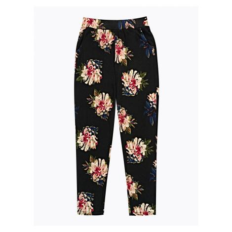 GATE Spodnie dresowe z nadrukiem kwiatowym