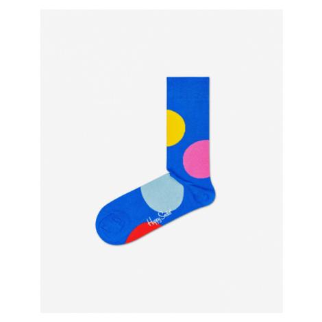 Happy Socks Jumbo Dot Skarpetki Niebieski
