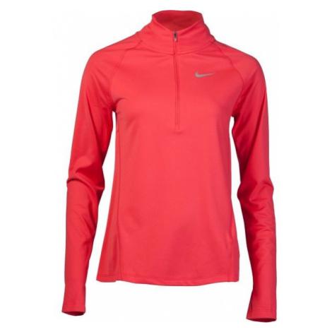 Nike TOP CORE HZ MID W czerwony L - Koszulka do biegania damska
