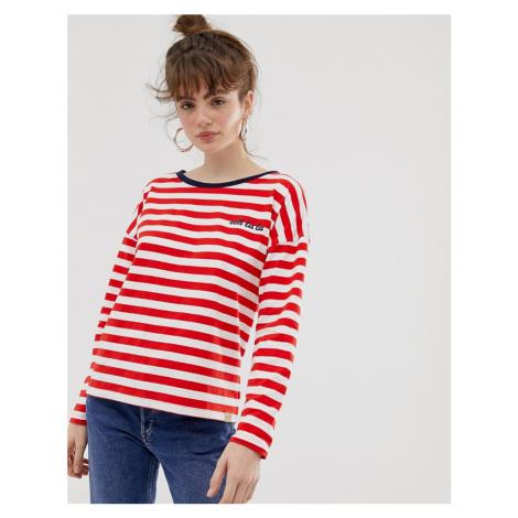 Blend She Agnes stripe long sleeved t-shirt