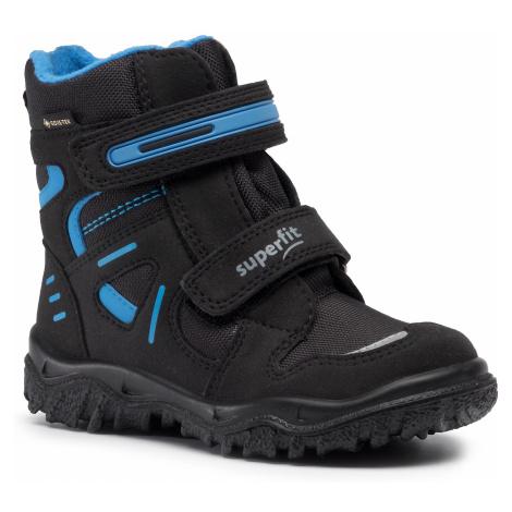Śniegowce SUPERFIT - GORE-TEX 1-809080-0000 M Schwarz/Blau