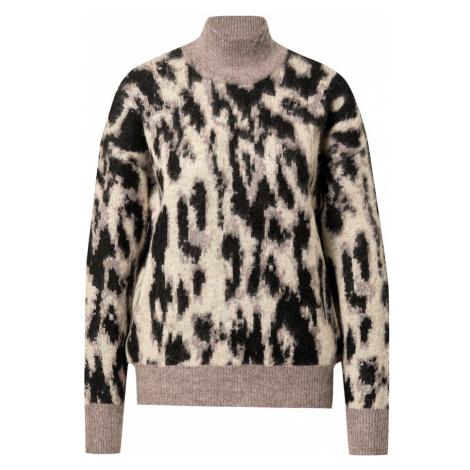 OBJECT Sweter piaskowy / szary