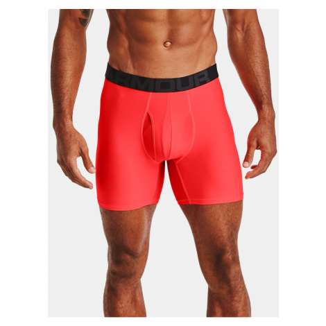 Under Armour Boxerky UA Tech 6in 2 Pack-RED