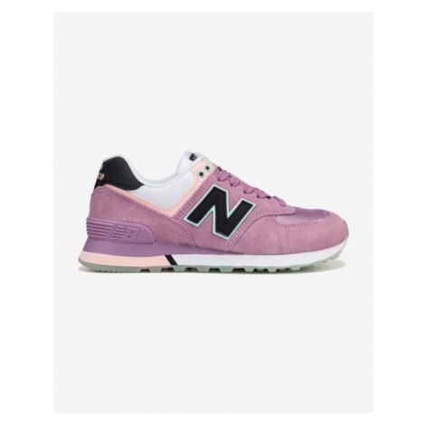 New Balance 574 Tenisówki Różowy Fioletowy