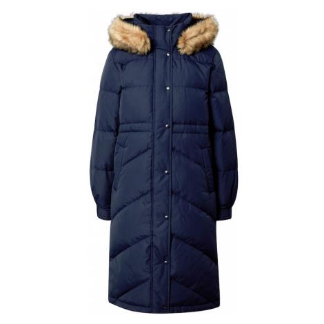 GAP Płaszcz zimowy granatowy / beżowy