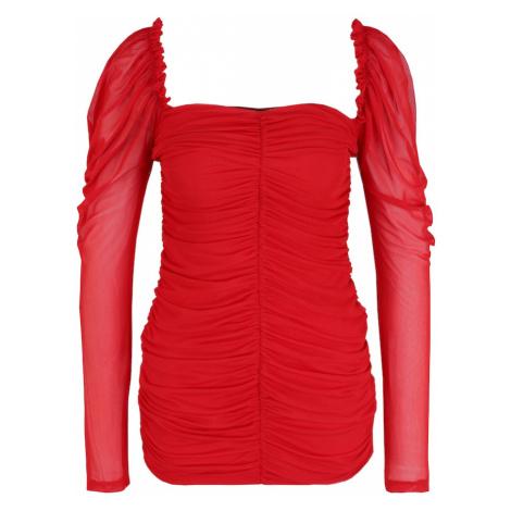Missguided (Petite) Sukienka czerwony