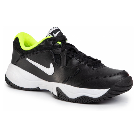 Buty NIKE - Court Lite 2 CD0440 007 Black/White/Volt