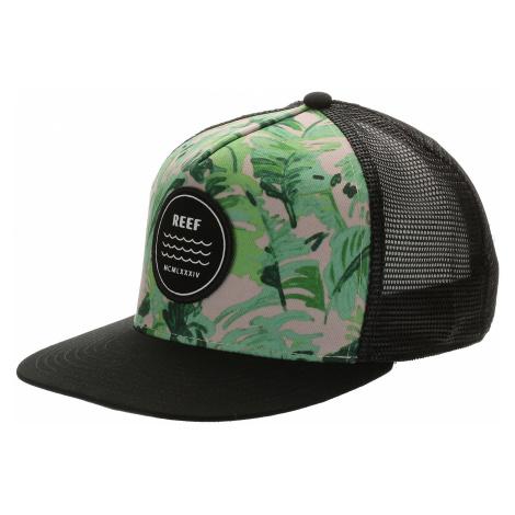 czapka z daszkiem Reef Beach Palms Trucker - Pink