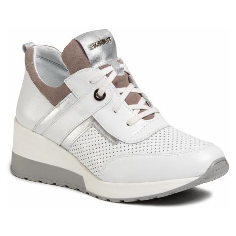 Sneakersy EKSBUT - 2B-5919-N86/489/I92 Biały