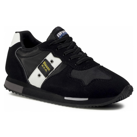 Sneakersy BLAUER - F0DASH02/NYL S Black