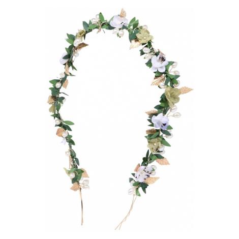 We Are Flowergirls Biżuteria do włosów 'Golden Aphrodite' złoty / perłowo biały