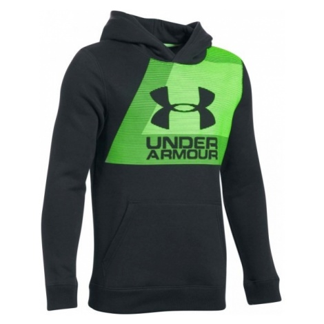 Under Armour BRUSHED GRAPHIC HOODIE - Bluza chłopięca