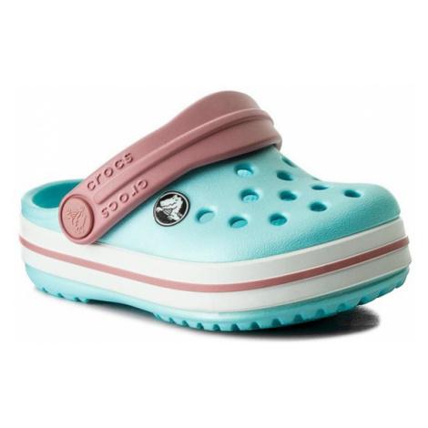 Crocs Klapki Crocband Clog K 204537 Niebieski