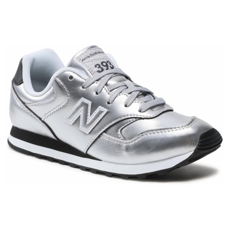 Sneakersy NEW BALANCE - WL393EA1 Srebrny