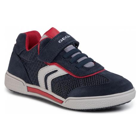 Sneakersy GEOX - J Poseido B. D J02BCD 01422 C0735 S Navy/Red