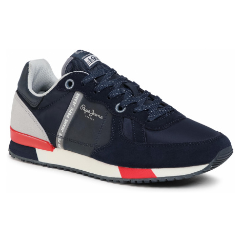 Sneakersy PEPE JEANS - Tinker Zero Second PMS30659 Navy 595