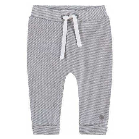 Noppies Spodnie 'Lotje' szary / biały
