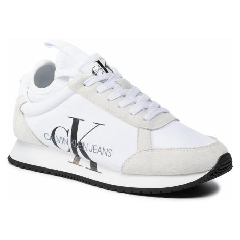 Sneakersy CALVIN KLEIN JEANS - Josslyn B4R0825 White