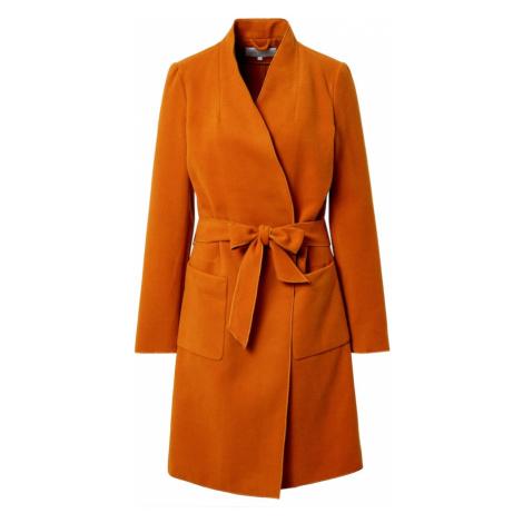 VILA Płaszcz przejściowy pomarańczowy