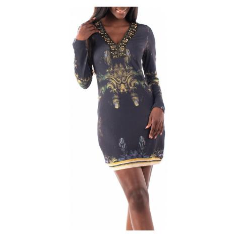 Culito from Spain czarna sukienka Topeng