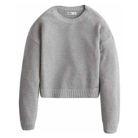 HOLLISTER Sweter jasnoszary