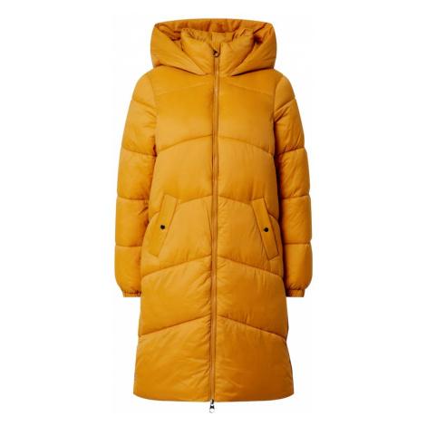 VERO MODA Płaszcz zimowy 'Upsala' żółty