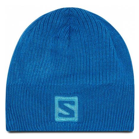 Salomon Czapka Logo Beanie C14208 10 S0 Niebieski
