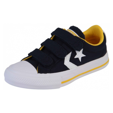 CONVERSE Trampki 'STAR PLAYER 3V CANVAS - OX' niebieski denim