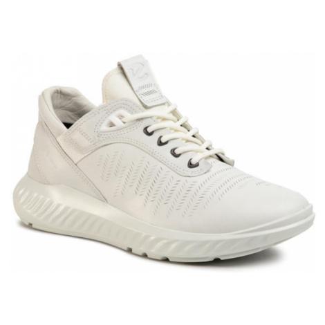 ECCO Sneakersy St.1 Lite M GORE-TEX 50422401007 Biały