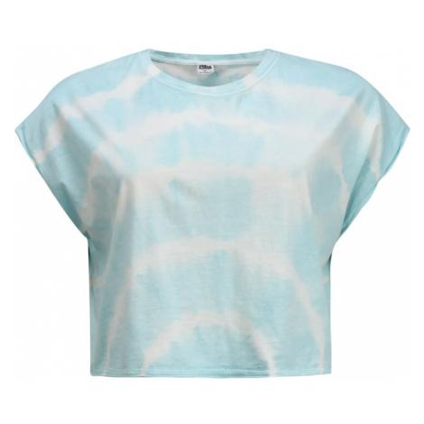 Urban Classics Curvy Koszulka 'Tie Dye' jasnoniebieski