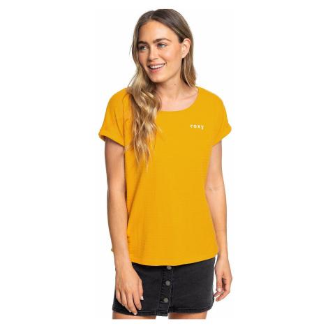 T-shirt Roxy Blue Lagoon View D - YKS0/Golden Glow