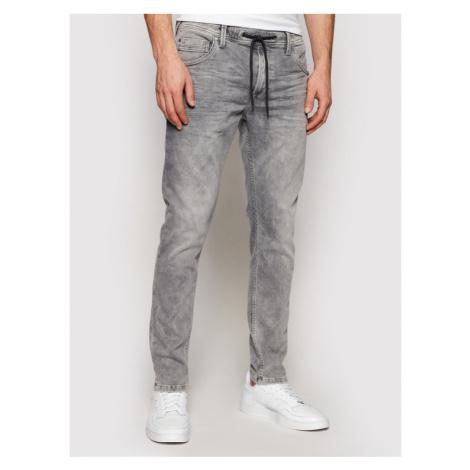 Pepe Jeans Jeansy GYMDIGO Jagger PM205905 Szary Slim Fit