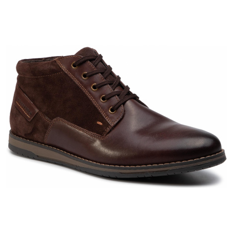 Trzewiki LASOCKI FOR MEN - MI07-A803-A632-02 Brown