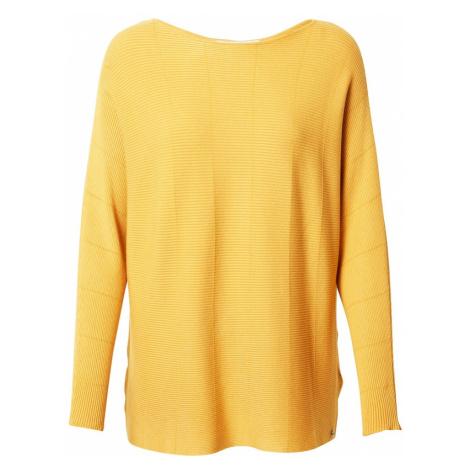 TOM TAILOR DENIM Sweter złoty żółty