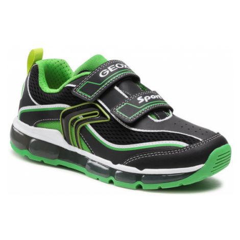 Geox Sneakersy J Android B. C J0244C 014BU C0016 DD Czarny