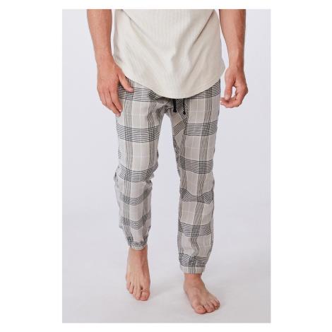 Spodnie w kratkę PJ Drake