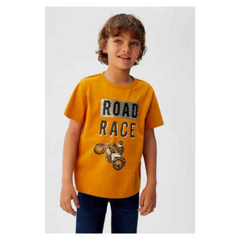 Mango Kids - T-shirt dziecięcy Moto5 110-164 cm
