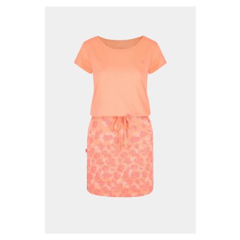 Pomarańczowa sukienka LOAP Asmen