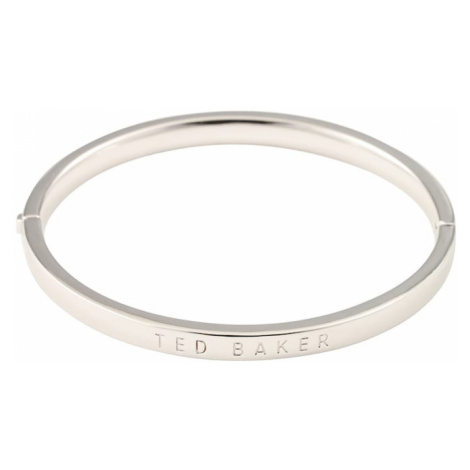 Ted Baker Pierścionek 'CLEMINA: HINGE METALLIC BANGLE' srebrny