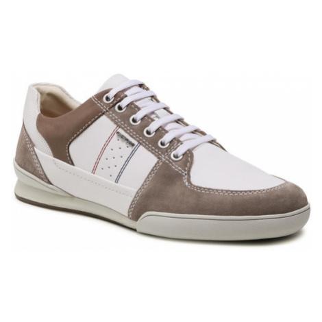 Geox Sneakersy U Kristof B U920EB 08522 C1Z1X Biały