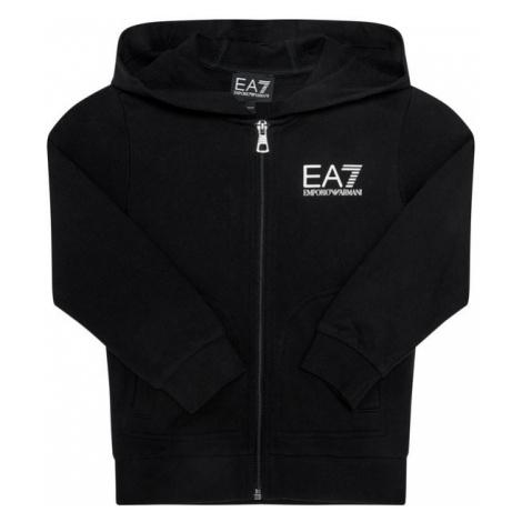 EA7 Emporio Armani Bluza 6HBM51 BJ05Z 1200 Czarny Regular Fit
