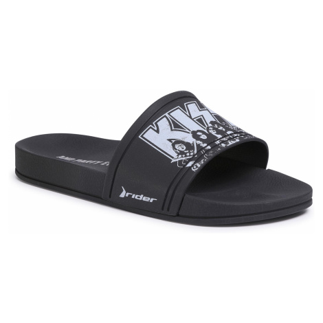 Klapki RIDER - Kiss Slide Ad 82812 Black/White 21194