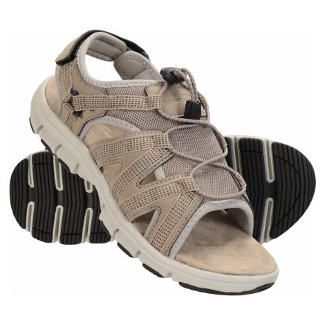 Brisk - sandały damskie - Beige