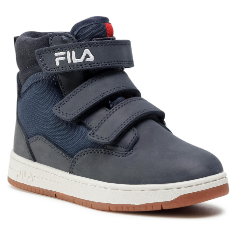 Trzewiki FILA - Knox Velcro Mid Jr 1011086.29Y Dress Blue