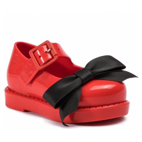 Półbuty MELISSA - Mini Melissa Maggie Bow Bb Me 32440 Red/Black 53379