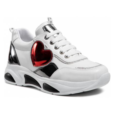 Guess Sneakersy Claire FJ5CLR ELE12 Biały