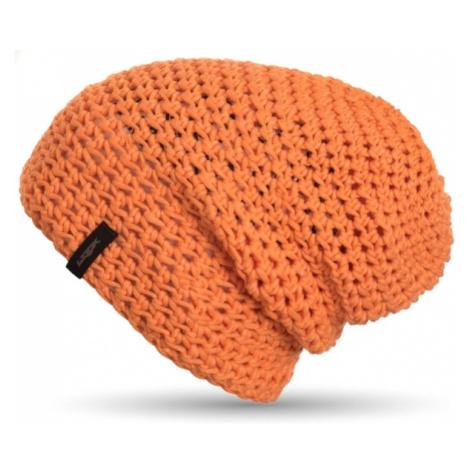 Czapka Krasnal Unisex |Handmade| Pomarańczowa Frigus Beanie Mandarine Woox